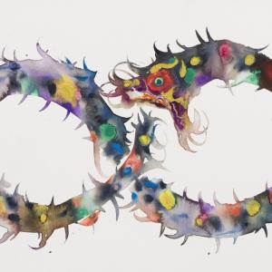 Ouroboros | eine neue Serie von Aquarellen